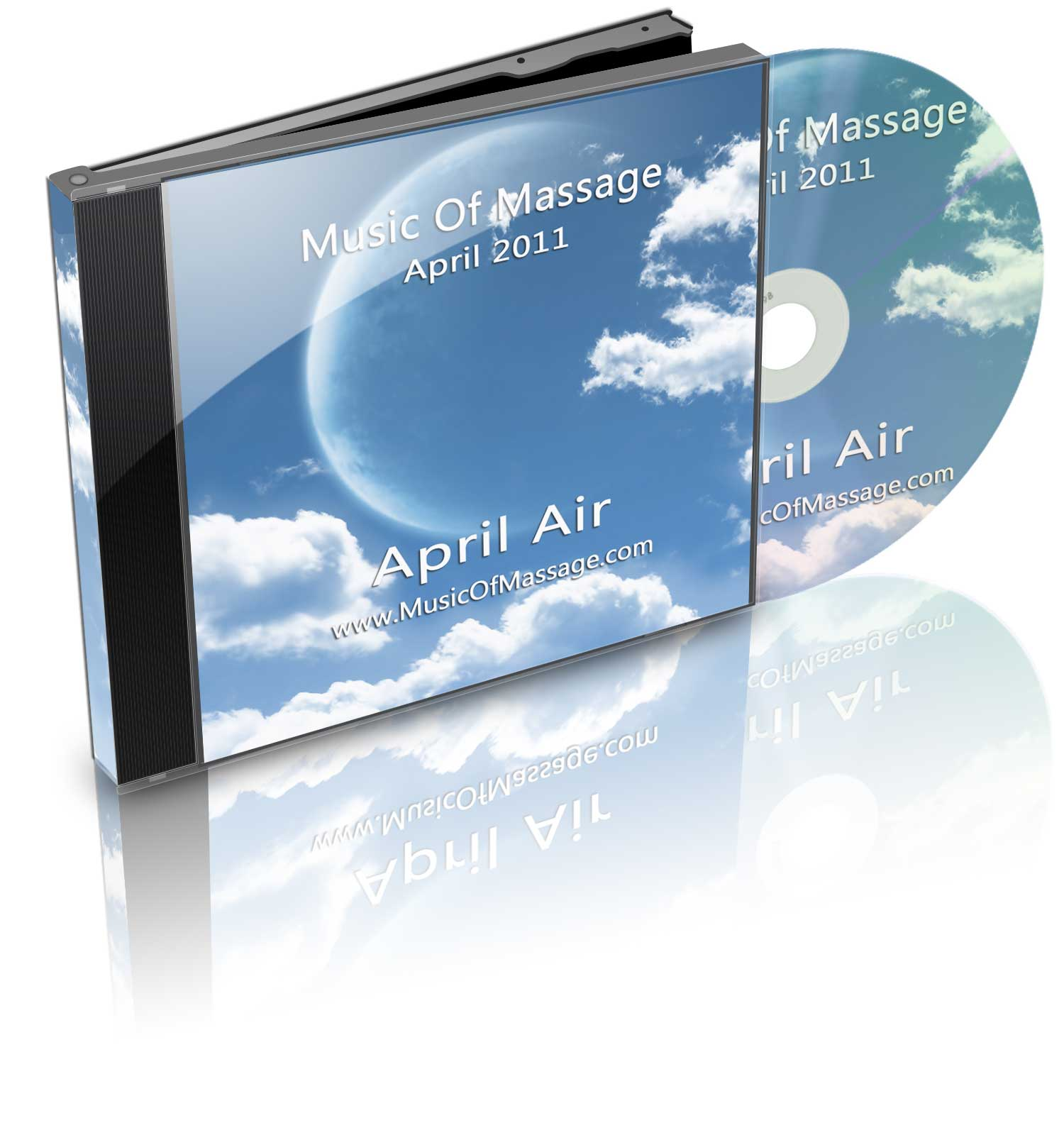 Music of Massage April Air CD Cover