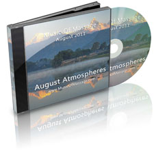 Massage Music - August CD Label
