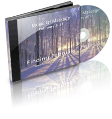 Music of Massage Finding February CD Cover