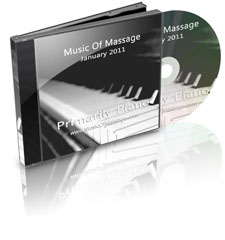 Music of Massage January Primarily Piano CD Cover