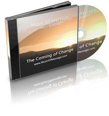 Music of Massage March Coming of Change CD Cover