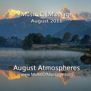 Massage Music - August CD Label