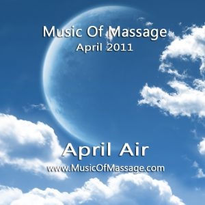 Massage Music - April CD Label
