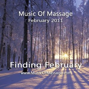 Massage Music - February CD Label