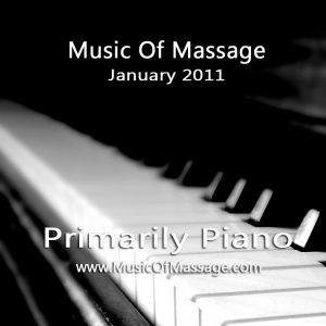 Massage Music - January CD Label