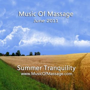 Massage Music - June CD Label