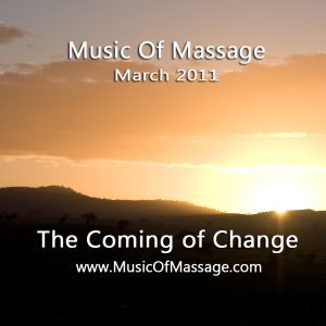 Massage Music - March CD Label