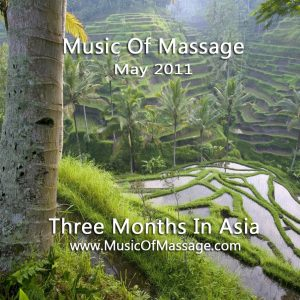 Massage Music - May CD Label