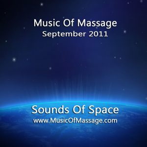 Massage Music - September CD Label